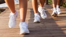People Walking Feet