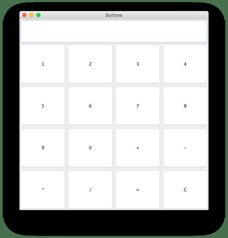 Java GUI Calculator Source Code