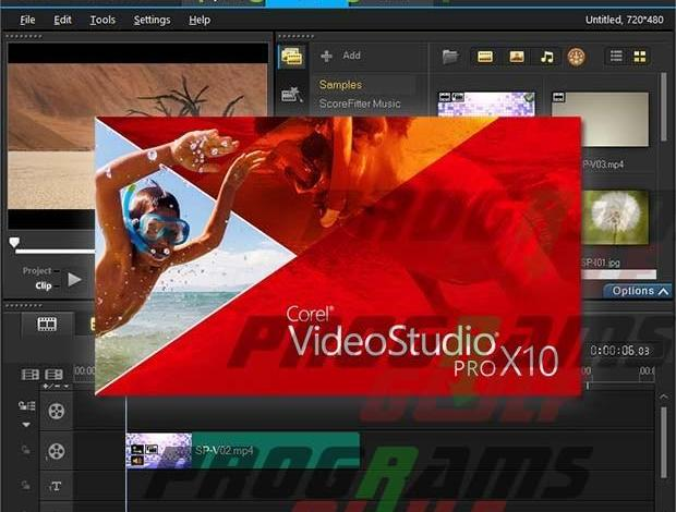 تحميل برنامج كورال فيديو ستوديو2017 Corel Video Studio Ultimate