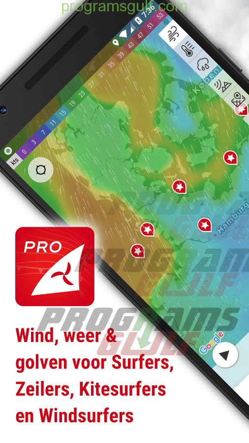 Windfinder - weather & wind forecast