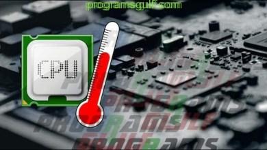 مراقبة درجة حرارة البروسيسور