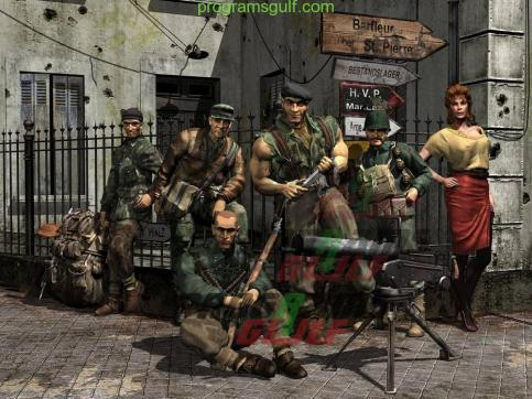 Commando Behind Enemy Lines download