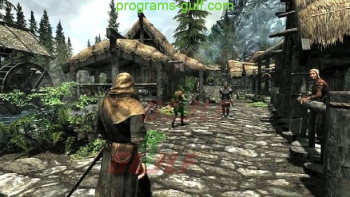 شاهد لعبة The Elder Scrolls V Skyrim