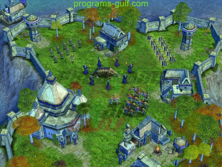 داخل لعبة Age of Mythology The Titans