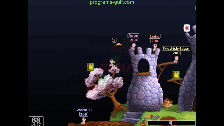 تحميل لعبة worms 2 كاملة