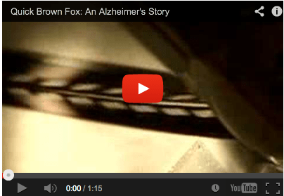 Dementia Film A Quick Brown Fox An Alzheimers Story