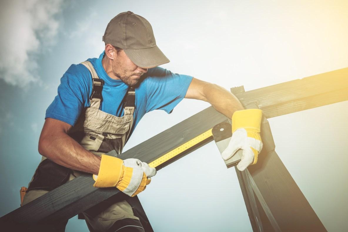 Carpenter apprentice