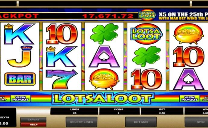 LotsaLoot 5 Reel Slot