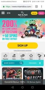 MiamiDice Mobile Casino miami dice mobile casino