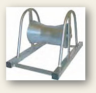 heavy duty cable roller