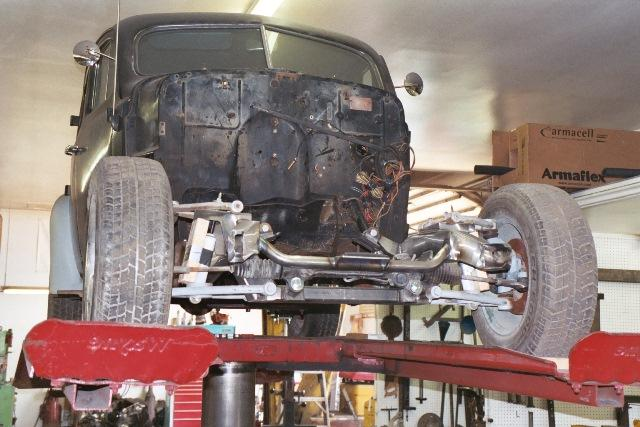 1954 Chevy Truck Front Suspension