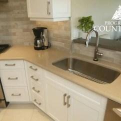 Granite Kitchen Counters Soap Dispenser Natural Countertops Progressive Countertop Caesarstone Shitake Quartz