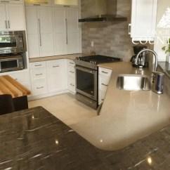 Granite Kitchen Counters Small Lighting Ideas Natural Countertops Progressive Countertop And Quartz Custom Design