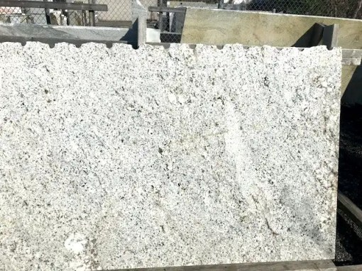 This is a large piece of granite in a classic neutral design