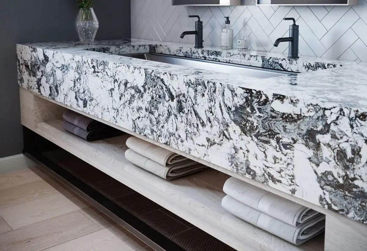 Huntley Quartz Bathroom Vanity London Progressive Countertop