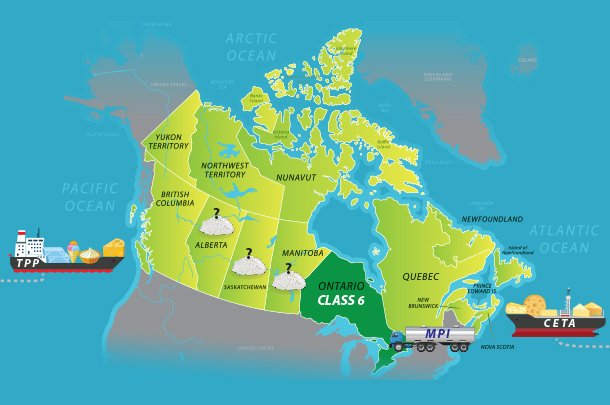 An update on Canadian dairy trade and ingredient processing  Progressive Dairyman Canada