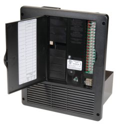 all in one 240v 50 amp ac dc power distribution panelrv electrical fuse box  [ 1024 x 977 Pixel ]