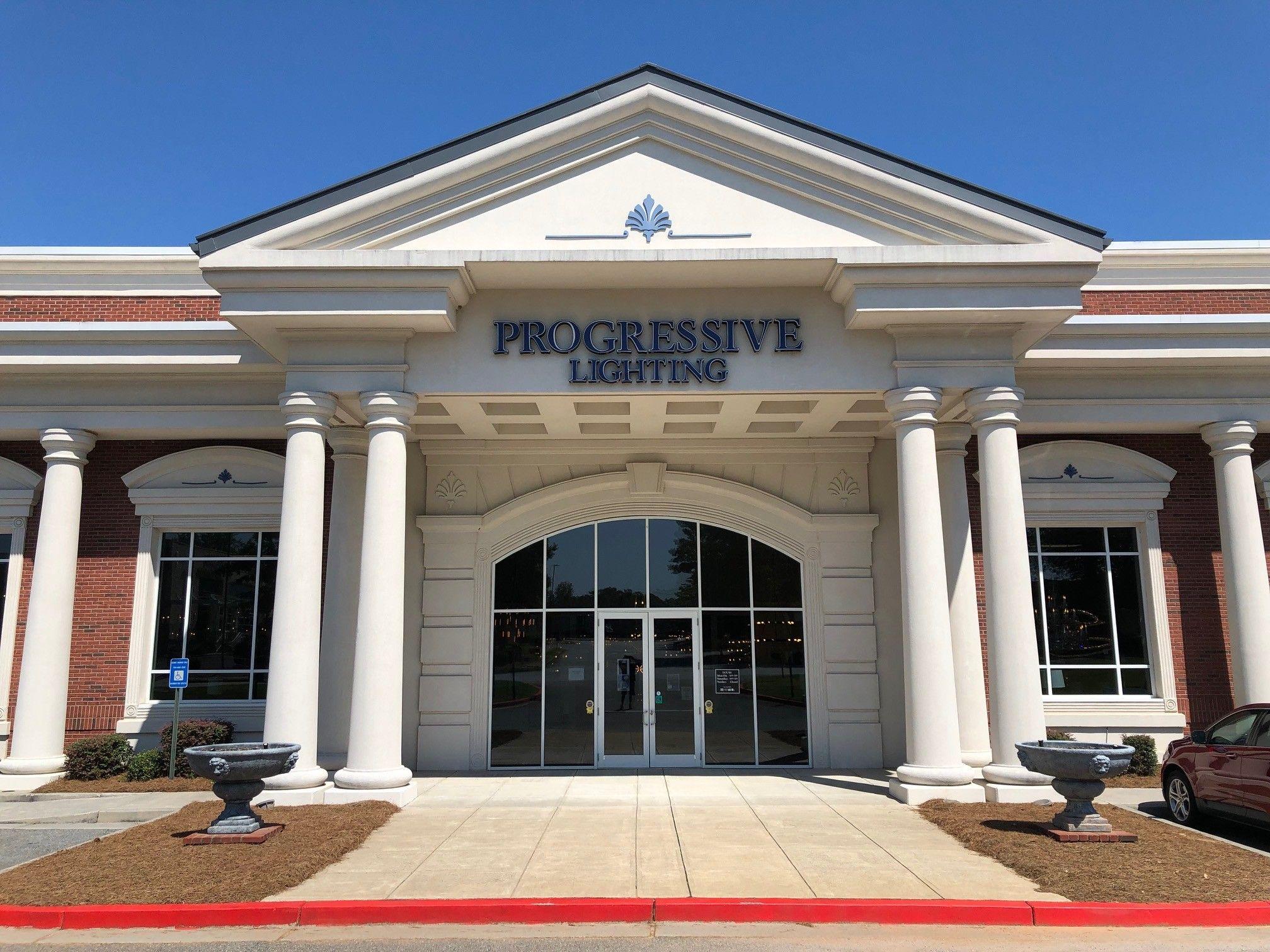 progressive lighting town center