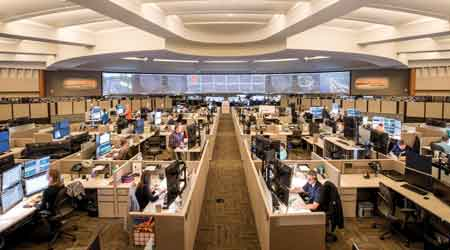 Rail InsiderTimelapse video Renovations sweep across BNSFs network ops center Information