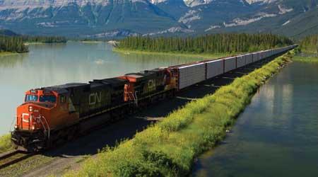 CN's Mainline Trains