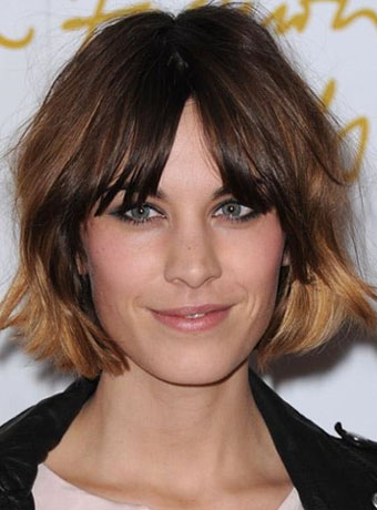 Alexa Chungs New Short Bob Hairstyle