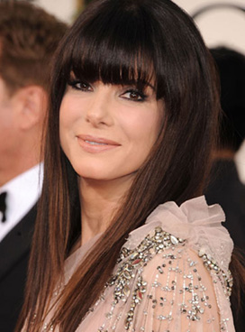 Sandra Bullocks New Bangs