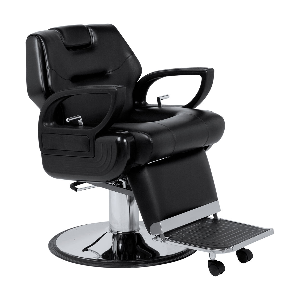 barber chair free shipping plastic lawn chairs stackable shop edwin sav 001 b savvy in black