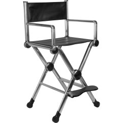 Aluminum Directors Chair Universal Covers Amazon Ver Beauty Silver Director Makeu Stylist