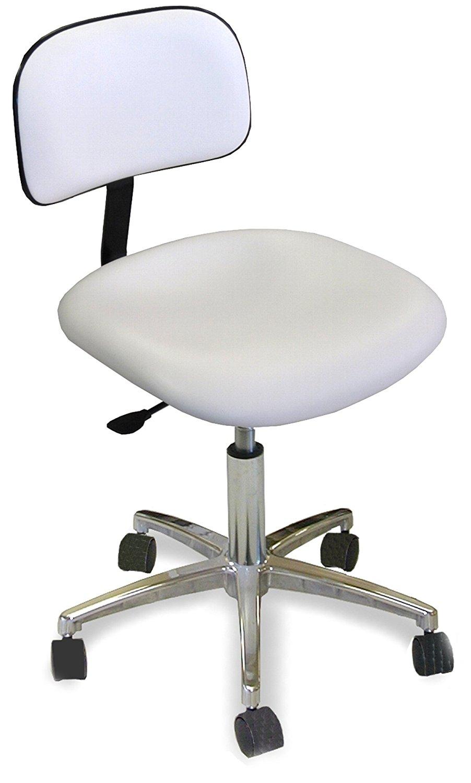 Dina Meri 920 Mani Sit Aesthetician Chair in White