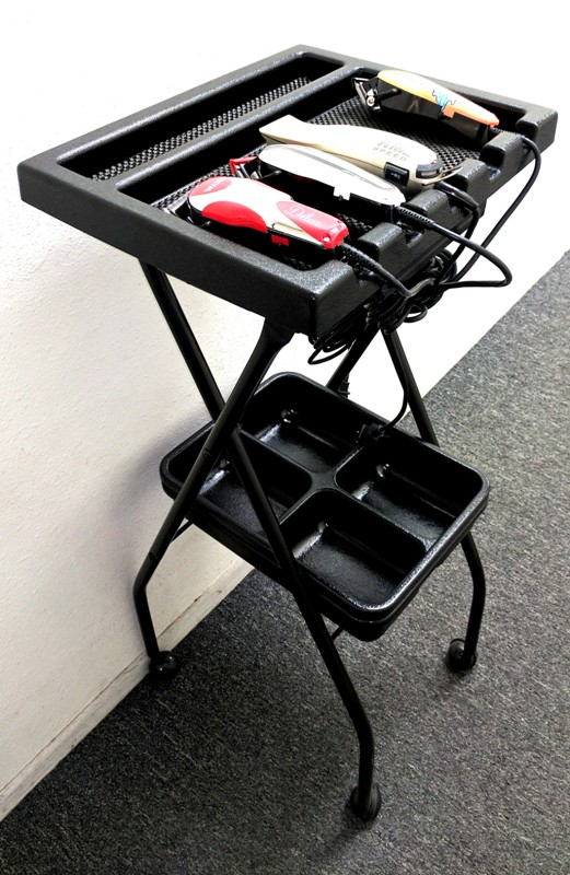 Barber Salon BT 5FT59 Folding Portable Barber Tray In 5