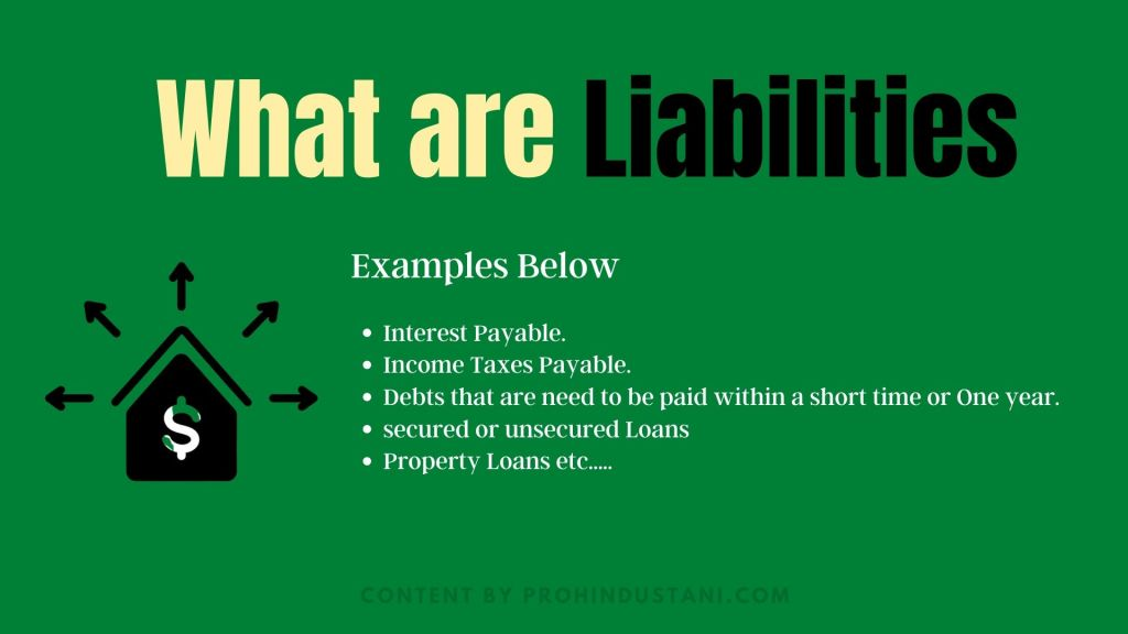 What are Liabilities