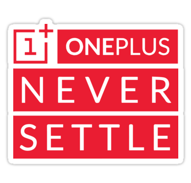 Image result for never settle oneplus logo