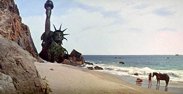 Cena final cortada de 'Planeta dos Macacos: A Origem' mostra Estátua da Liberdade