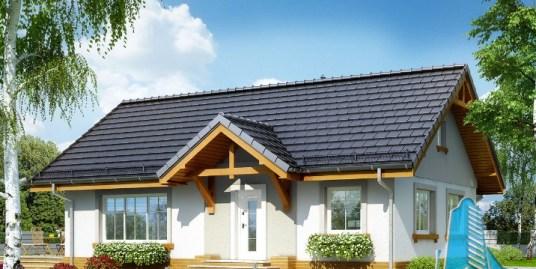 Proiect de casa cu parter -100594