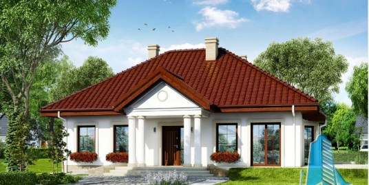 Proiect de casa cu parter -100685