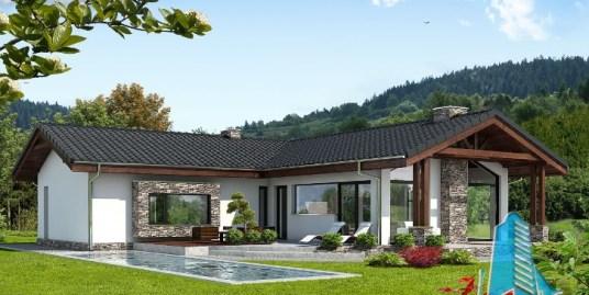 Proiect de casa cu parter -100633