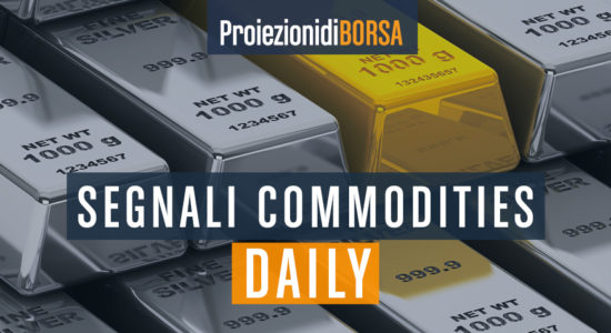 I valori per il trading intraday di 4 commodities per il 7 agosto