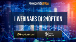 Iscriviti ai Webinars di 24Option