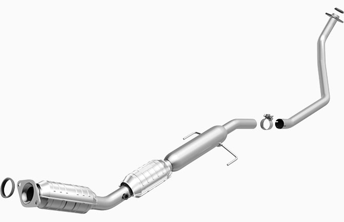 MagnaFlow High Flow Catalytic Converter for 2010 Toyota