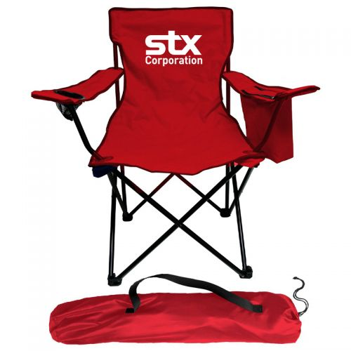 Custom Imprinted Polyester Cooler Chairs  Polyester
