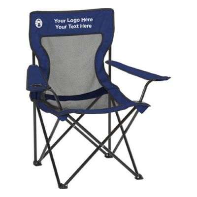 Personalized Coleman PolyOxford Folding Chairs  Folding