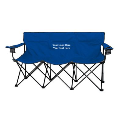 Personalized Trio Portable Folding Chairs  Folding Chairs
