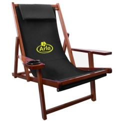 Sling Chair Outdoor High Back Grey Velvet Dining Chairs Promotional Logo Wood Folding
