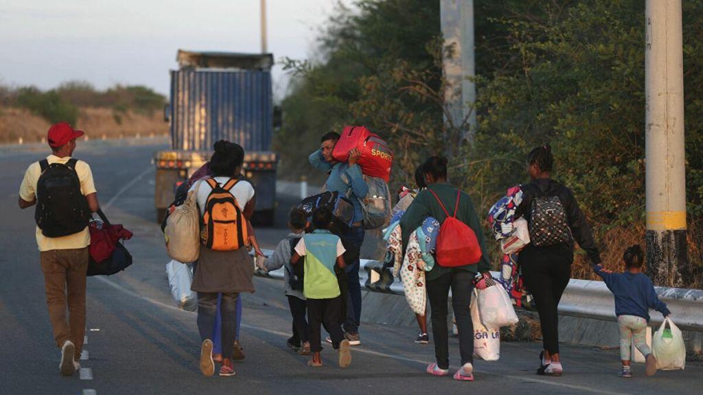 niñas y niños migrantes
