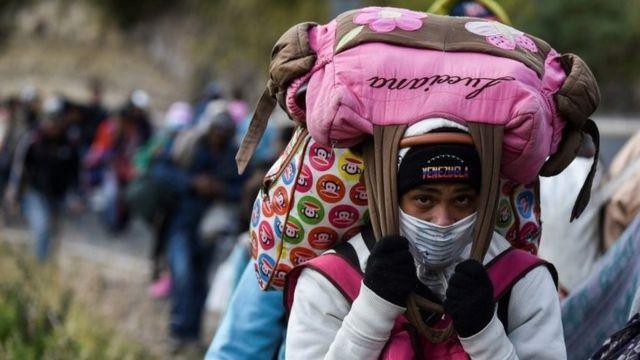 huida masiva de venezolanos