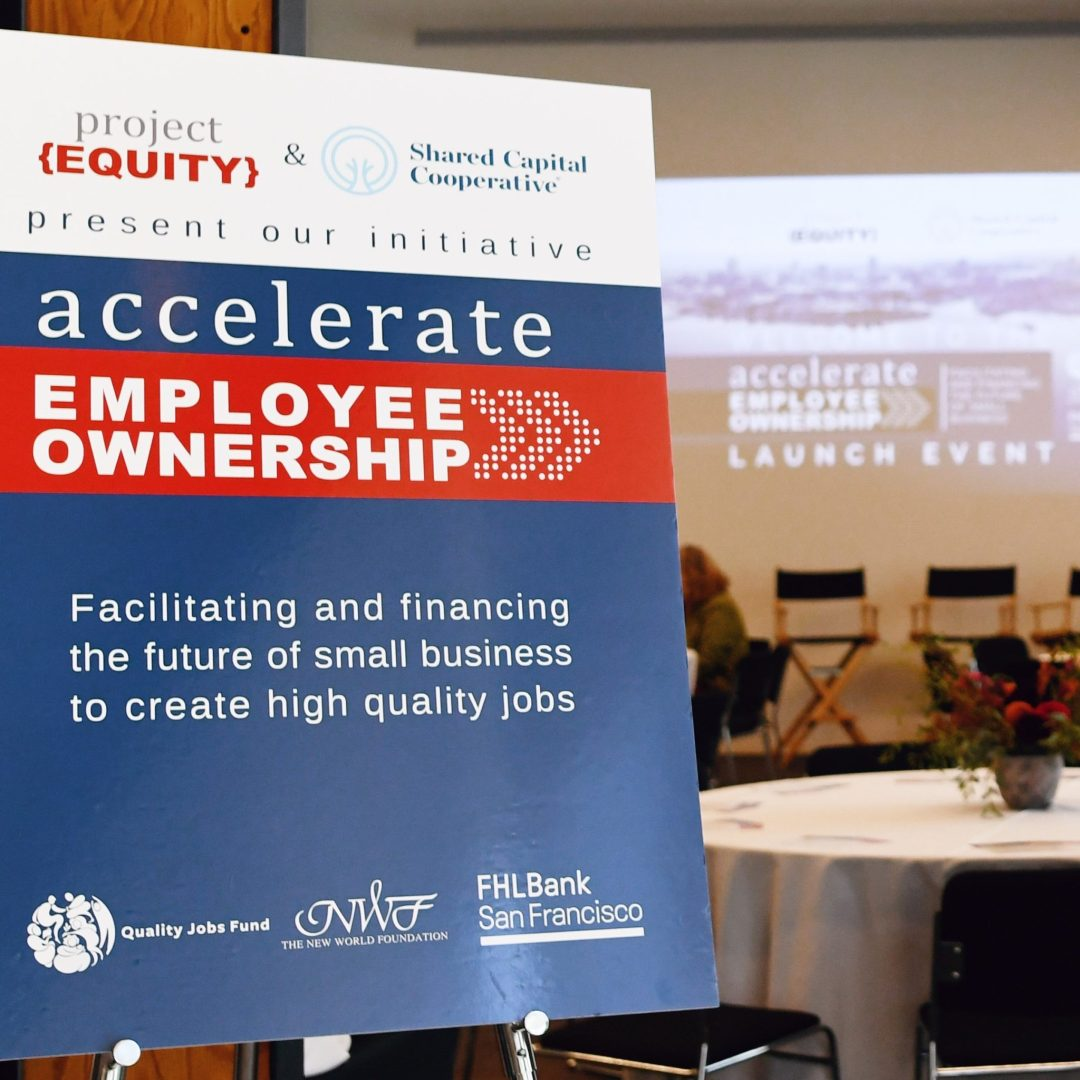 Accelerate Employee Ownership Launch Event