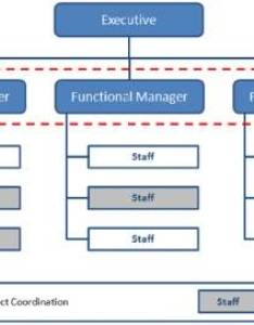 Functional organizational structure also types for project managers rh management skills