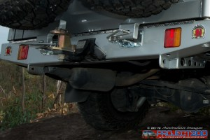 Rear recovery point landcruiser 200