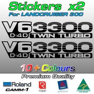 Landcruiser 300 twin turbo V6 diesel