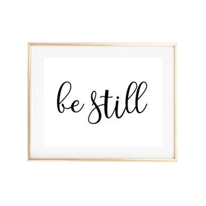 Be Still Artwork